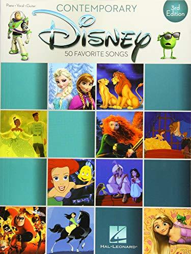 Contemporary Disney: 3rd Edition: Songbook für Klavier, Gesang, Gitarre (Piano-vocal-guitar) (Disney Piano Songbook)