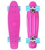 Bikestar Penny-Skateboard, mint/lila, SK-60-RT-01-TERE