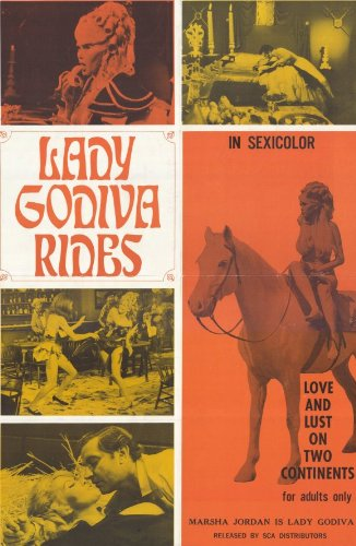 lady-godiva-rides-poster-11-x-17-inches-28cm-x-44cm-1970-style-a