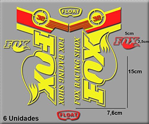 PEGATINAS-FOX-FLOTA-32-BIKES-R141-VINILO-ADESIVI-DECAL-AUFKLEBER–MTB-STICKERS-BIKE