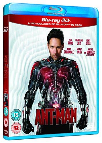 Ant-Man [Blu-ray 3D] [Region Free]
