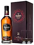 Glenfiddich 21 Jahre Gran Reserva 0,7 Liter + 2 Glencairn Gläser