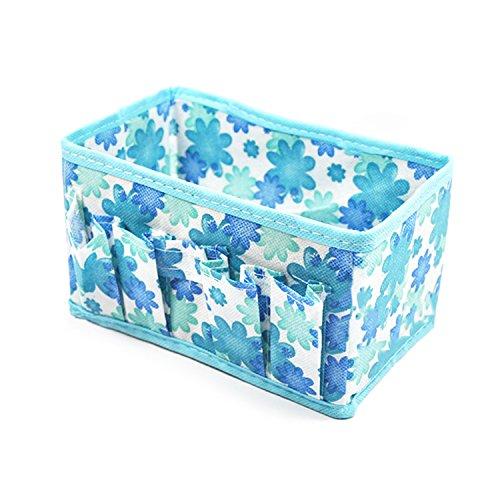 Pieghevole trucco cosmetici stoccaggio scatola sacchetto organizzatore gioielli stazionario Container