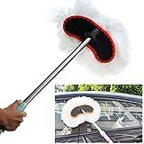 LawUza Balai Nettoyage de Lavage de Voiture Brosse Télescopique Réglable Outil de Nettoyage de Voiture Fournitures