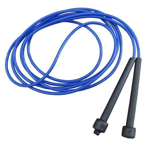 1x Springseil, Speed Rope 3 Meter, blau