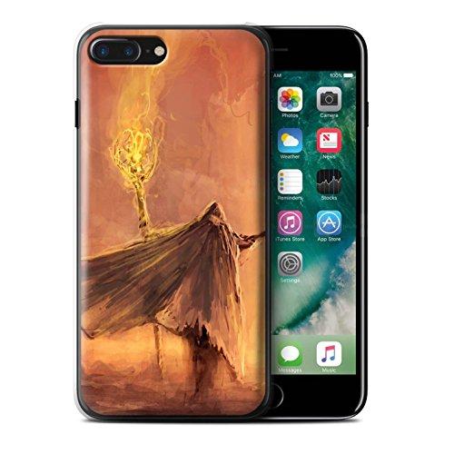 Offiziell Chris Cold Hülle / Case für Apple iPhone 7 Plus / Ghouls der Furcht Muster / Dämonisches Tier Kollektion Kriegsheld/Warlock