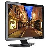 """Eyoyo 17"""" Zoll Monitor 1280x1024 TFT LCD CCTV HDMI HD Monitor Farbdisplay Bildschirm mit BNC/VGA/AV/HDMI/USB Kopfhörerausgang, Eingebauter Lautsprecher (17'' 1280x1024)"""