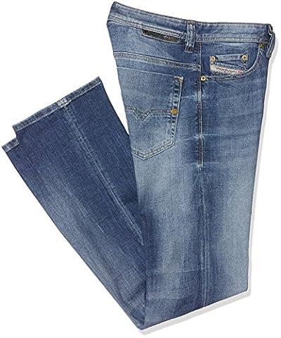 Diesel Herren Straight Jeans Safado Pantaloni, Blau (Light Blue 0859R), W31/L30