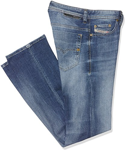 Diesel Herren Straight Jeans Safado Pantaloni Blau (Light blue 0859R)