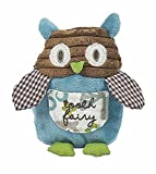 """Maison Chic Owen the Owl Tooth Fairy Pillow, 6"""""""