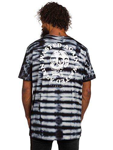 Herren T-Shirt Quiksilver Pm Wasted Again T-Shirt Black