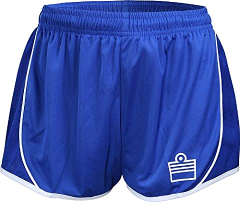 Admiral Oxford Ready-to-Play Women's Soccer Shorts, Royal/White,