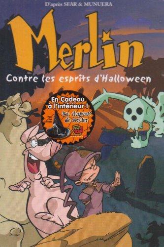 Merlin le magicien : Merlin contre les esprits D'Halloween [FR Import] (Les Dessins Dhalloween)