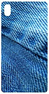 Blue Jeans Back Cover Case for Sony Xperia Z2