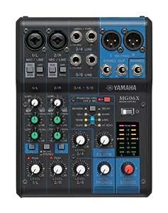 Yamaha MG06 X 6-Input Compact Stereo Mixer