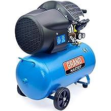 Compresor de Aire 100 Litros 2200W Dos Cilindros 356L/min