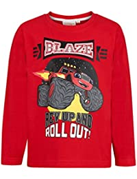 Blaze Camiseta Mangas largas Rojo