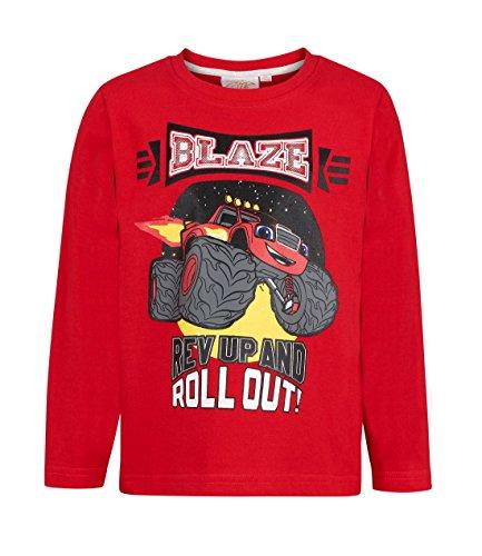 Blaze maglietta maniche lunghe rosso (110)