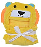 Baby Bucket Blanket with Hooded (Yellow ...