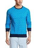 Status Quo Men's Fleece Sweatshirt (8903591701382_SQ-FL-15311_Medium_T.Blue )