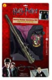 Rubies Official Harry Potter Pack Gryffindor Robe, Wand and Glasses Childs Costume - Standard Size