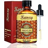 KANZY - Anticaída De Aceite De Argán Orgánico 120 ml - cabello suave como la seda y uñas fuertes - Ideal para pieles sensibles - Oshun Suero Profesional para un cabello nutrido con aceite de Argán orgánico -