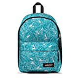 Eastpak Out Of Office BagComfortable, stylish backpack takes your laptop on the goFeatures:Main compartment features zippered closure to keep items safely stowedHandy front pocket keeps small things safely stowedKeep your tech secure in a sleeve to f...