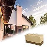healingpie Sacca portaoggetti per Esterni, Cuscino per Veranda e Borsa portaoggetti per Veranda, Protezione per mobili da Esterno in Tessuto 600D Oxford