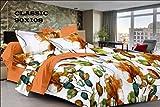 SurprizeMe Cotton Floral Double Bedsheet...