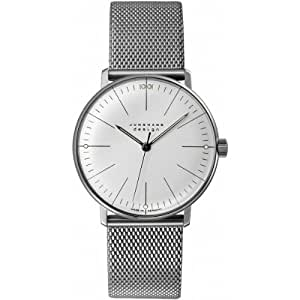 Junghans Herren-Armbanduhr max bill Handaufzug 027/3004.44