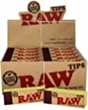 Raw Rolling Paper Tips 10 Booklets