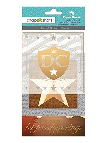 ons DCC-0002E Snapshot Druckecut-Verzierung, Washington, DC, 3 Stück ()
