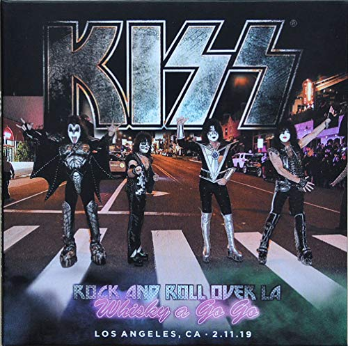 KISS Live 2019 WHISKY A GO GO End Of The Road World Tour CD+DVD set (Kiss-live-cd)