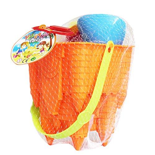WEIZQ Kinder Sandspielzeug, 8 Stück Sand Spielset Strandspielzeug Set für Kinder