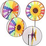 Kalttoy Sonnenblume Windmühle Whirligig Wind Spinner Hausgarten Garten Dekor Kinder Kind Spielzeug
