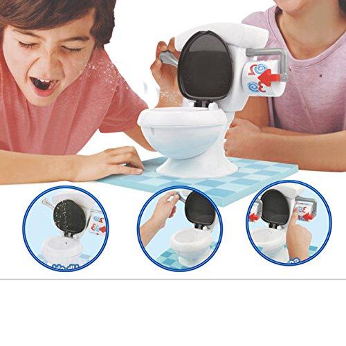 Zantec Kinder Lustige gelegentliche Wasser Spray Toilette Trouble Spiel für Party Washroom Tricky Kinder (1 Jahr Kostüm Alte Batman)