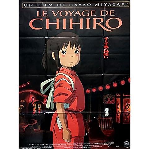 LE VOYAGE DE CHIHIRO Affiche de film pliée 120x160 - 2001 - Studios Ghibli, Miyazaki