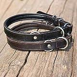 Kieffer Hundehalsband Ultra Soft Dressur Größe/Farbe 60cm / schwarz