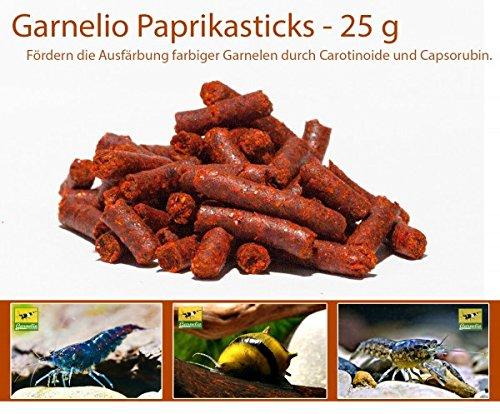 Garnelio - Paprika Sticks - 25 g - Garnelen Futter