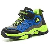 Zapatos de Algodón Botas para la Nieve Botas de Invierno para Niños Botas de Senderismo Cálido Forro Botas de Montaña Deportiva Cómoda Niño al Aire Libre Trekking Zapatos