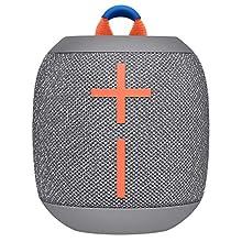 Ultimate Ears Wonderbooms 2 Wireless Speaker, Deep Bass, 360 ° Surround Sound, Waterproof, 2 Speaker Connection for Powerful Sound, 13h Battery, Gray