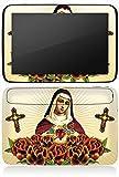 Samsung Nexus 10 Autocollant Protection Film Design Sticker Skin Maria Croix Roses