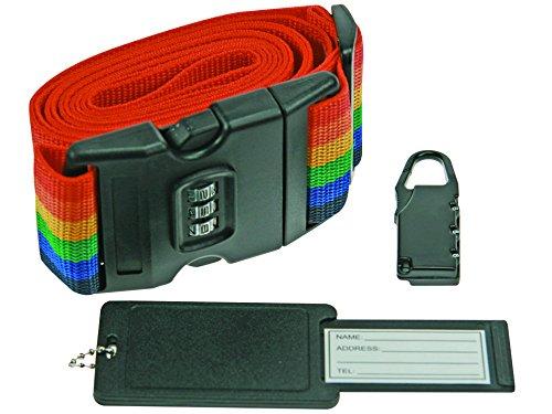 Perel slkcset2Sangle pour valise avec serrure à combinaison