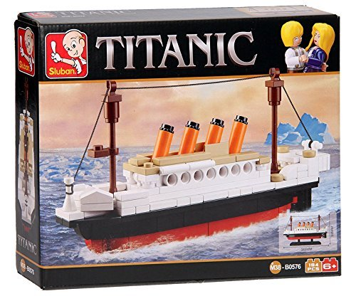 Sluban M38-B0576 Titanic Building Bricks Set (Small), SlubanM38-B0576