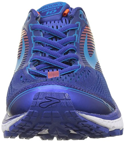 Brooks Herren Ghost 10 Gymnastikschuhe Blau (Mazarine Blue/methyl Blue/cherry Tomato)
