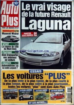 AUTO PLUS [No 517] du 04/08/1998