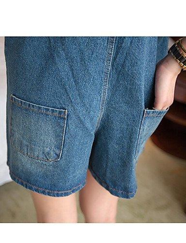 GSP-Pantalon Aux femmes Sexy / Décontracté Toile de jean light blue-s
