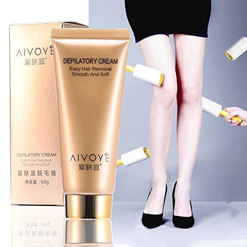 Permanente Haarentfernungscreme Haut Sanft Körper Enthaarungscreme