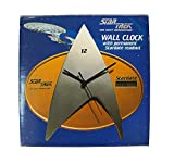 Vintage Wesco 1996 Star Trek The Next Generation Stardate Wall Clock Shop Stock Room Find
