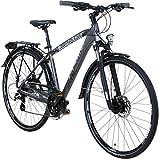 Whistle 28 Zoll Segment GuipagoTrekkingrad Crossrad Herrenrad 24 Gang 49 cm oder 54 cm, Rahmengrösse:54 cm